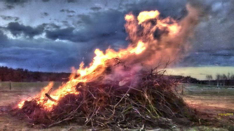 Osterfeuer 04.04.2015